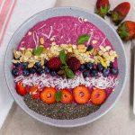 tazon saludable de frutas